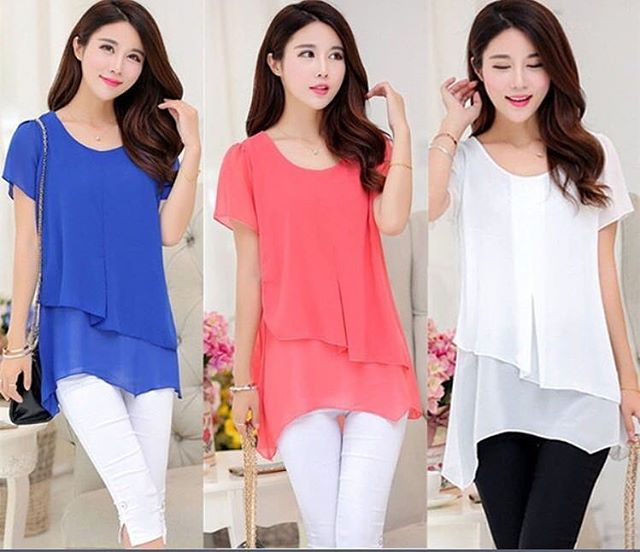 Casual Flair Tops
