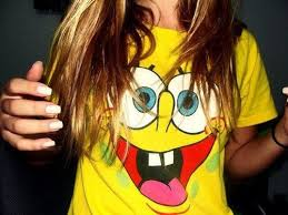 Smiling Spongebob T-Shirts
