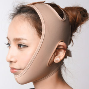 Brown Cloth Face V Shaping & Slimming Mask