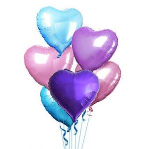 Heart Shape Foil Balloons