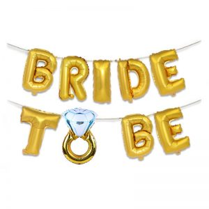 Bride to be (Ring) Foil Balloons