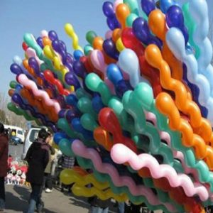 Long Curvy Balloons