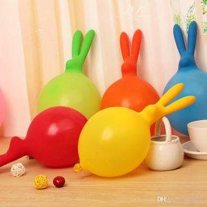 Rabbit Shaped Balloons