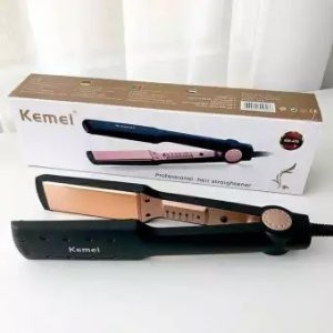 Professional Kemei Km-470 Professional Hair Straightener for women