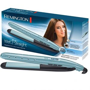 Remington S7300 Wet 2 Straight Straightener (Sky Blue)