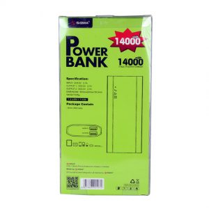 POWER BANK, SIGMA, SIGMA POWER BANK, SIGMA POWER BANK 14000 MWH, SIGMA POWER BANK ONLINE, SIGMA POWER BANK ONLINE IN PAKISTAN, SIGMA POWER BANK ONLINE IN PAKISTAN AT LOWEST RATE