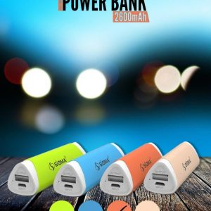 Power Bank, Sigma, Sigma Power Bank, Sigma Power Bank 2600 mah, Sigma Power Bank Online, Sigma Power Bank Online In Pakistan, Sigma Power Bank Online In Pakistan at lowest Rate