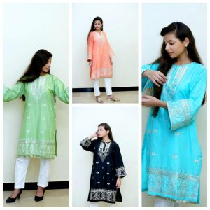 Kishmish Khaas Embroidered Kurti