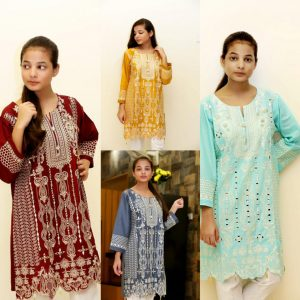 Kishmish Khaas Hand Work Embroidered Kurti