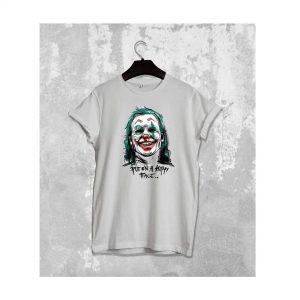 Joker Put On A Face Print T-shirts