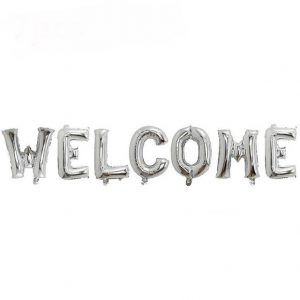 Welcome Foil Balloons